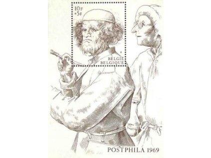 1969, aršík, MiNr.Bl.39, **