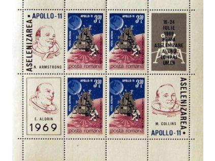 1969, aršík, MiNr.Bl.72, **