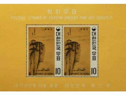 Korea-Nord, 1970, aršík, MiNr.317A, (*)