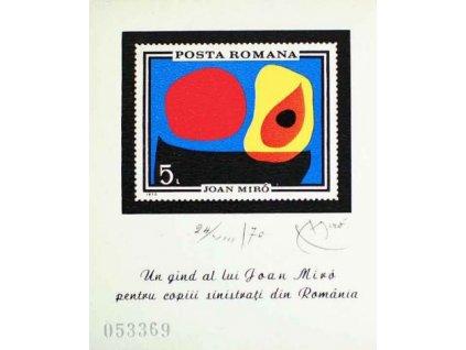 1970, aršík, MiNr.Bl.81, ** , dv