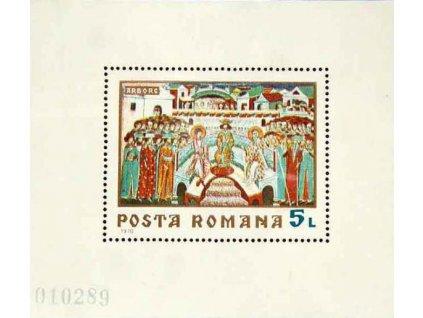 1970, aršík, MiNr.Bl.76, ** , dv