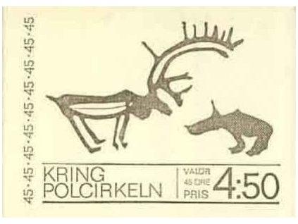 1970, známkový sešitek, MH 25, **