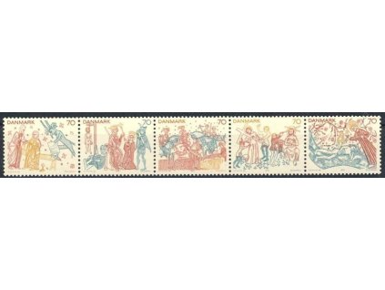 1973, soutisk, MiNr.550-54, **