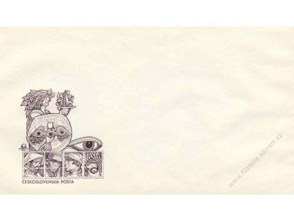 1975, Československá pošta, propagační obálka