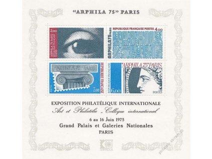 1975, aršík ARPHILA, MiNr.Bl.5, **