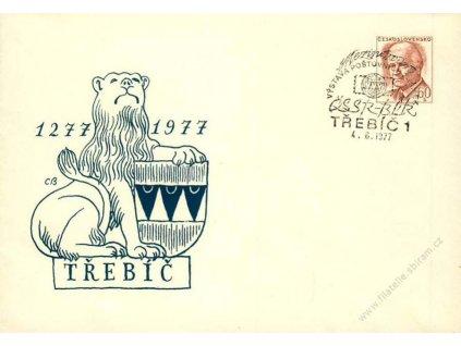 1977, Třebíč, Výstava známek