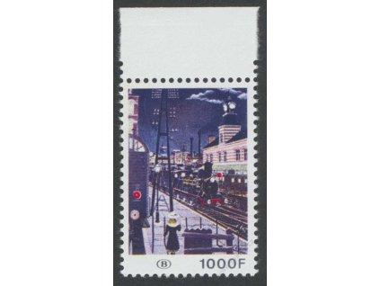 1977, 1000Fr Eisenbahnpaketmarken, **