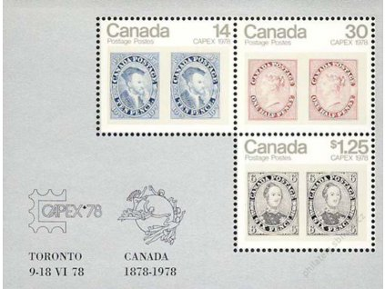 Kanada, 1978, aršík MiNr.Bl.1, **