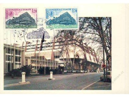 1978, Carte Maxima Europat, MiNr.23-24, dv roh