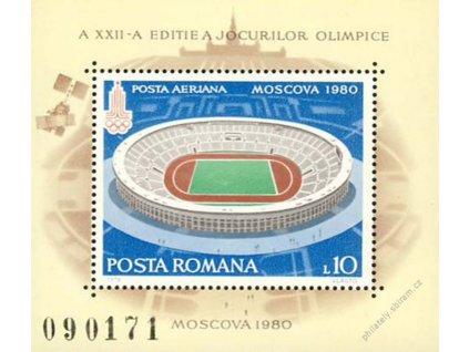 1979, aršík Sport, MiNr.Bl.161, **