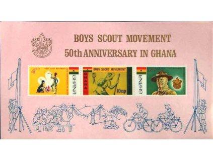 Ghana, 1967, aršík, MiNr.Bl.27, **