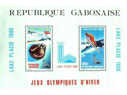 Gabon, 1980, aršík, MiNr.Bl.38, **