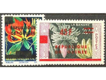 Guinea, 1959, 10-45Fr/20Fr série, **
