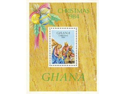 Ghana, 1984, aršík Vánoce, **