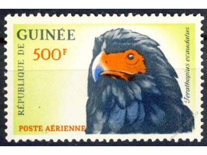 Guinee, 1962, 500Fr Pták, MiNr.163, **