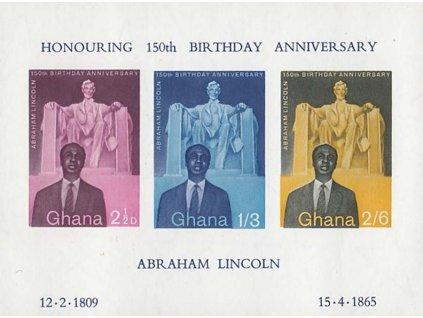 Ghana, 1959, aršík MiNr.Bl.1, **