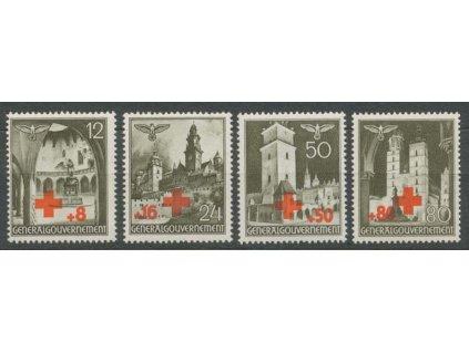 Generalgouvernement, 1940, 12-80Gr série ČK, **