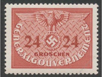 Generalgouvernement, 1940, 24Gr služební, **