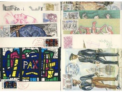 1981, 10 ks Carte Maxima, každá jiná