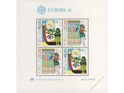 1981, aršík, MiNr.Bl.32, **
