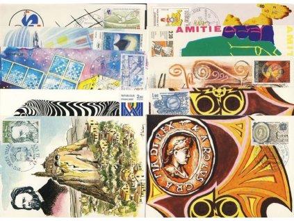 1982, 10 ks Carte Maxima, každá jiná