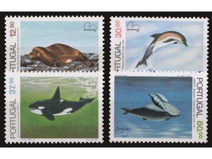 1983, 12.50-80E série Mořská fauna, MiNr.1604-7, **