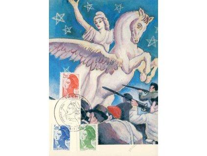 1985, Carte Maxima Liberté
