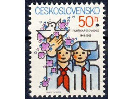 1989, 50h PO SSM, Nr.2891, ** , průpich - Vzor