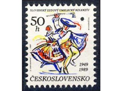 1989, 50h SLUK, Nr.2903, ** , průpich - Vzor