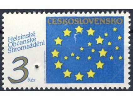 1990, 3Kčs Helsinky, Nr.2959, ** , průpich - Vzor