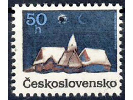 1990, 50h Vánoce, Nr.2960, ** , průpich - Vzor