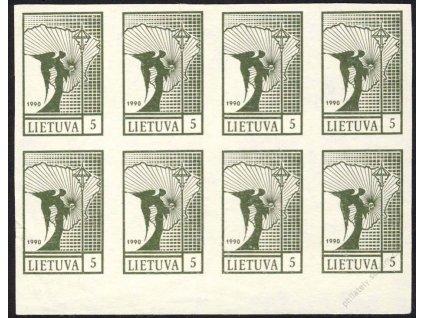 Lietuva, 1990, 5K Svoboda, tmavý odstín, (*)