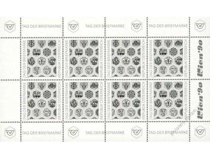 1990, Gedenblätter Briefmarkenausstellung Wien (*)