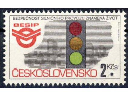 1992, 2Kčs BESIP, Nr.3005, ** , průpich - Vzor