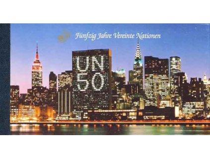 Wien, 1992, sešitek 50 let OSN, **