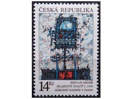1993, 14Kč EUROPA - Hladový svatý, Nr.5 **