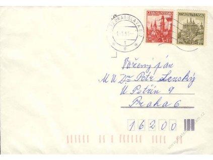 1993, DR Bratislava 1.3., dopis