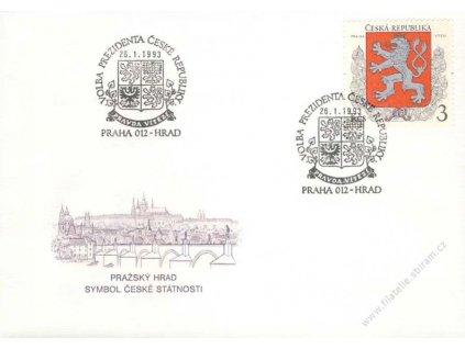 1993, Praha 10 Hrad, Volba prezidenta ČR
