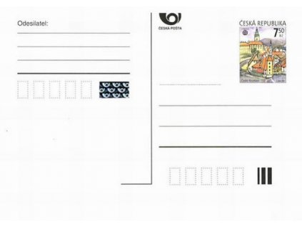 CDV 95C Český Krumlov 7,50Kč