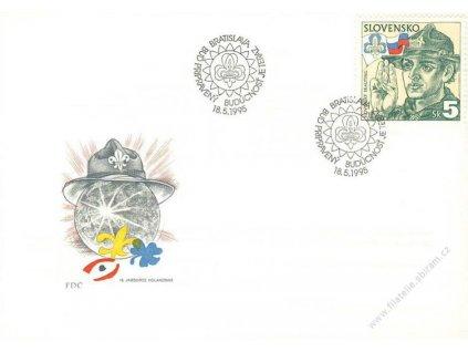 1995, FDC 67 Slovenský skauting