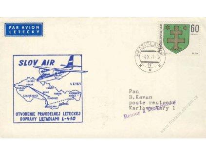 1996, 50. výročí prvního letu Praha - New York