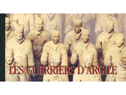 Genf, 1997, sešitek Terakotová armáda, **