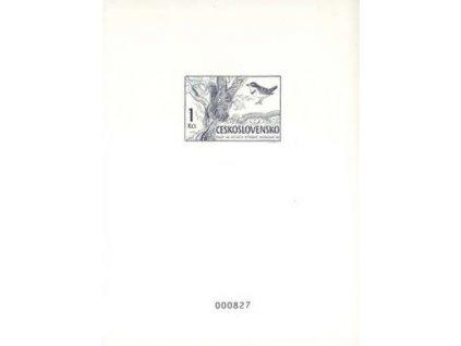 A-1999, černotisk 1Kčs Ekologie