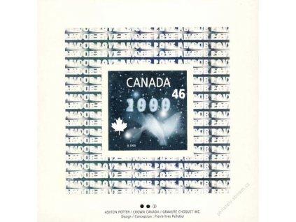 Kanada, 1999, 3 aršíky MiNr.Kl.1882-84, **