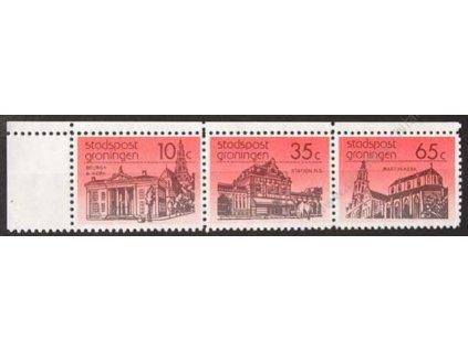 Stadtspost groningen, soutisk známek 10C+35C+65C