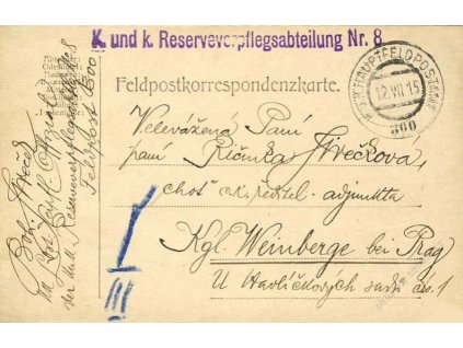 No.300 + K.u.k. Reserveverpflegsabteilung Nr.8