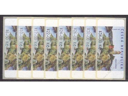 2002-3, 6.50-34Kč Automatové zn., Nr.AU2/2,2/3, **