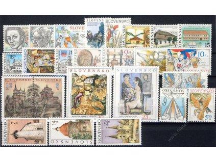 2002, kompletní ročník známek, kat.22Euro, **