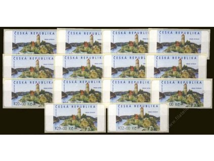 2002, 5.40-32Kč automatové známky, Nr.AU 2/1