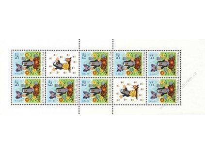 2002, 5.40Kč Krteček, sešitkový list, Nr.SL323, **